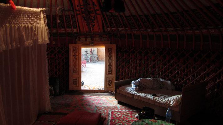 Yurt-Stay - Kara-Koo- Issyk-Kul Lake - Kyrgyzstan
