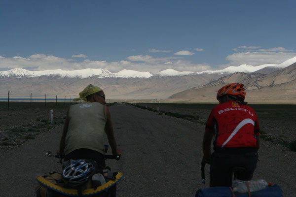 Me and Victor - Pamir Highway - Tajikistan
