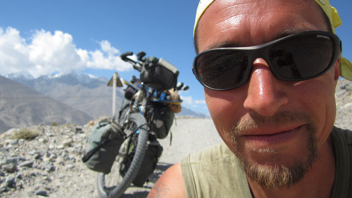 Me at Wakhan Valley - Hindukush - Afghanistan border