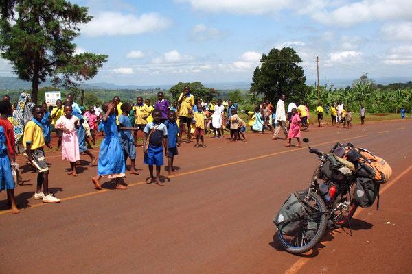 Kids at Mount Elgon - Sironko Province