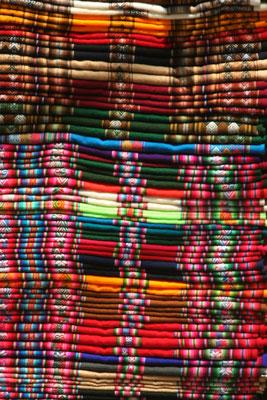 Bolivian textiles - La Paz