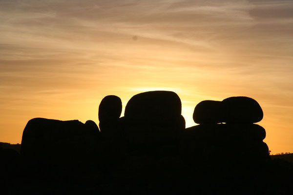 Sunset at Devils Marbles - Northern Territory