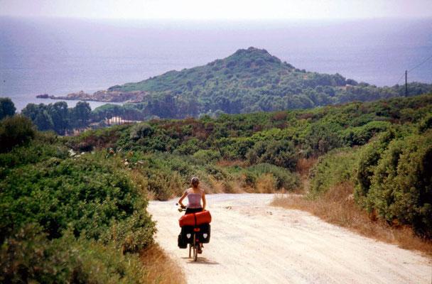 Approaching Capo Ferrato - Southeastern Sardinia