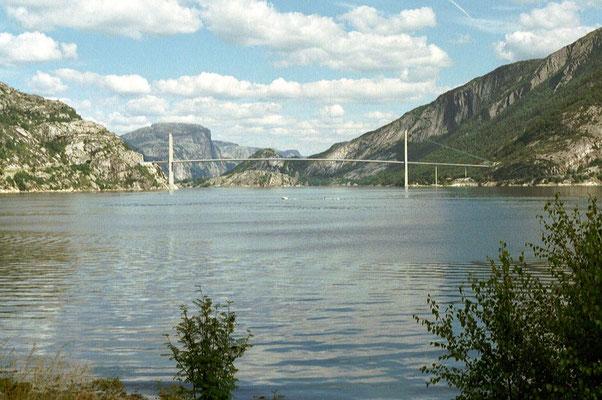 Lsyefjorden - East of Stavanger