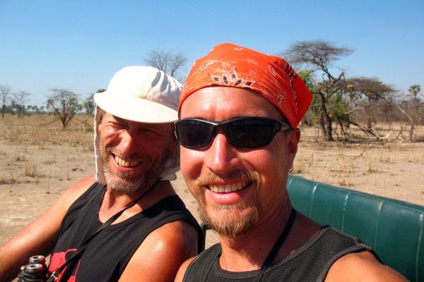 Hugo and me - Liwonde National Park