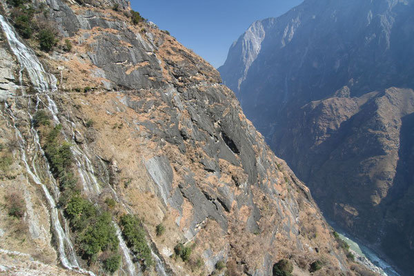 Northern stretch of Tiger Leaping Gorge