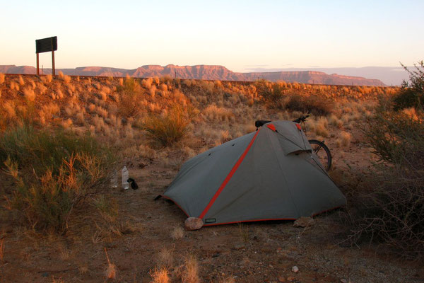 Camp at Namib Desert