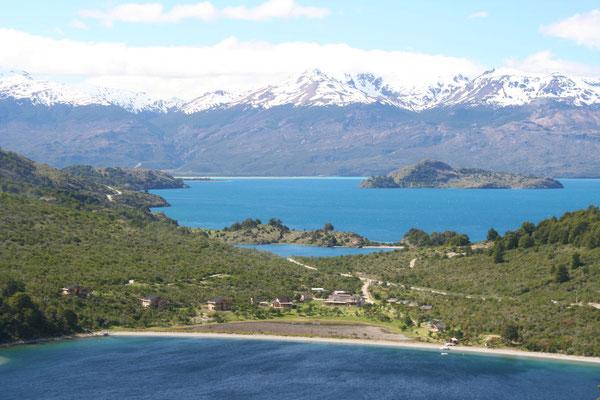 Lago Bertrand and Lago General Carrera
