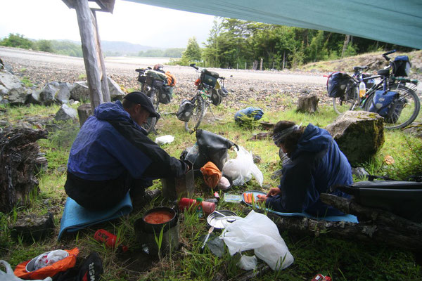 Lunch stop - Southern Carretera Austral