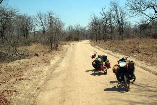 Cycling Liwonde National Park - Southern Malawi