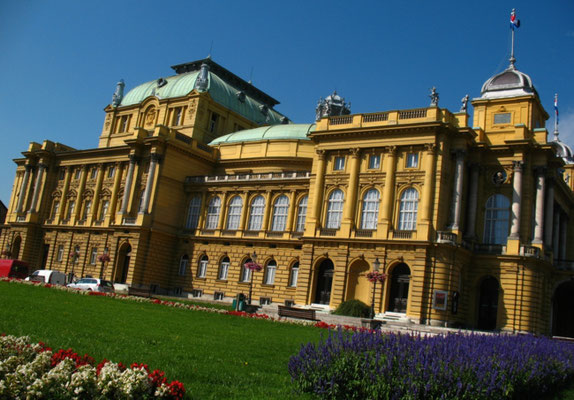 National Theatre - Zagreb - Croatia