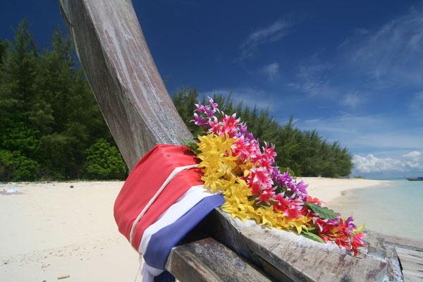 Bamboo Island beach - near Ko Phi Phi - Southwestern Thailand