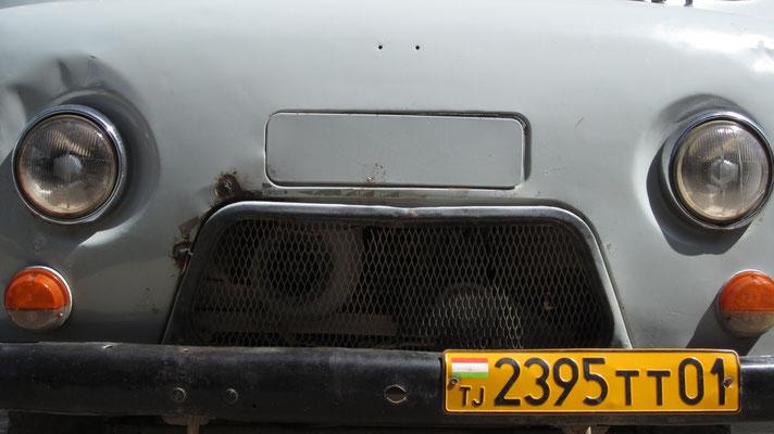 Truck at Khorog Bazaar - Tajikistan