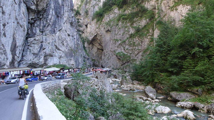 Bicaz Gorge - Carpathian Mountains - Romania