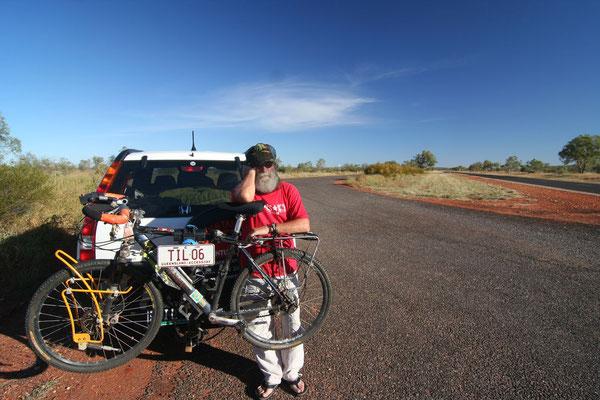 Tilmann Waldthaler - Stuart Highway - Northern Territory