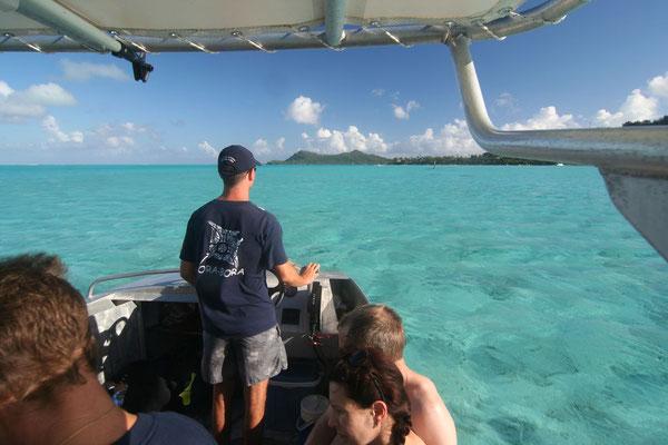 Dive trip to Teavanui Pass - Bora Bora