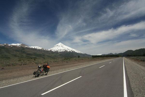 Volcano Lanin - Neuquen Province - Patagonia