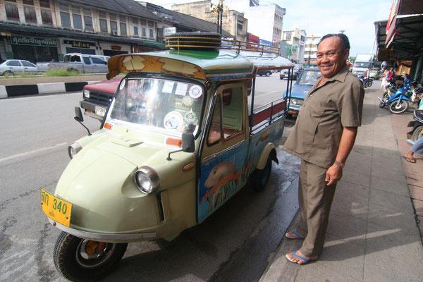 Tuk-tuk driver - Trang - Southern Andaman Coast