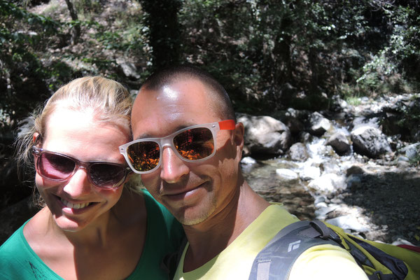 Hiking at Caledonia Falls - Platres - Troodos Mountains