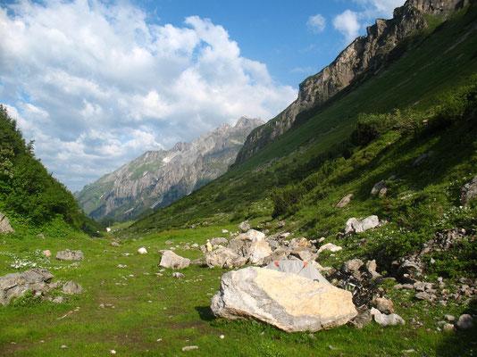 Camp near Arlberg Pass 1,793 m - Tyrol - Austria