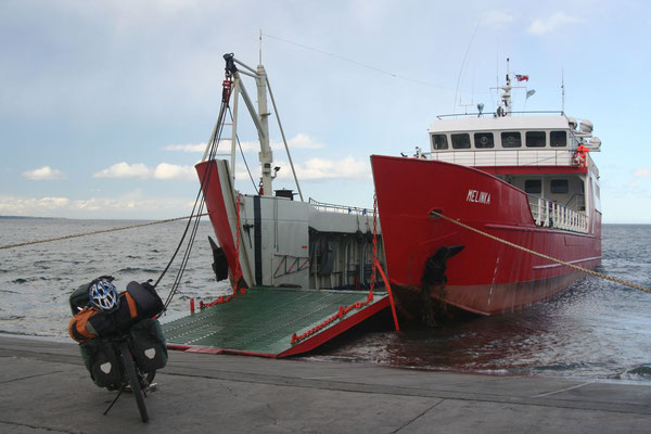 Ferry to the Land of Fire - Punta Arenas