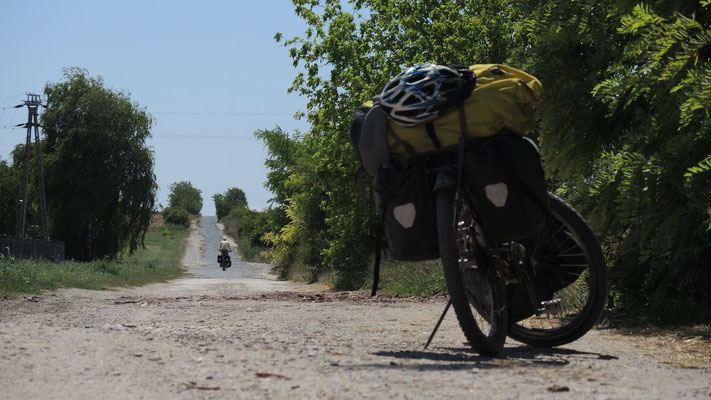Cycling eastwards - Hungary