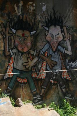 Graffiti art - Valparaiso