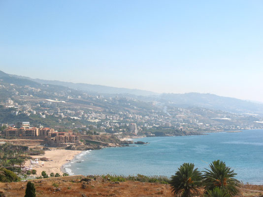 Mediterranean coast north of Beirut - Lebanon