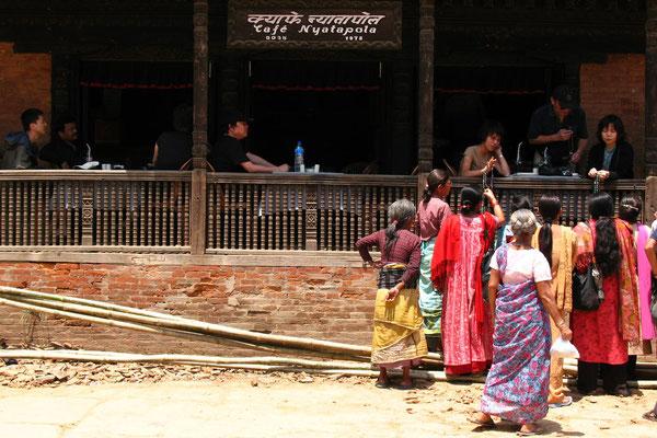 Café at Taumadhi Tole - Bhaktapur