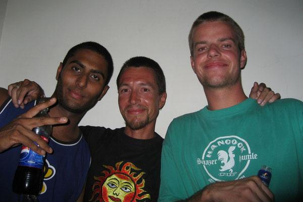 Vikash, me and Isaiah - Jaipur - Rajasthan