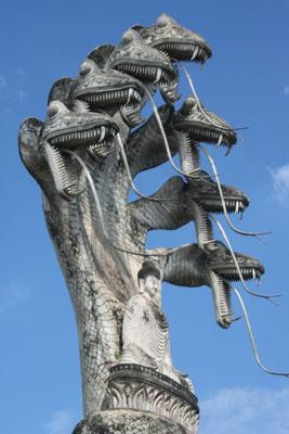 Sala Kaew Ku Sculpture Park - Nong Khai - Northeastern Thailand