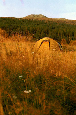 Camp at Espedalsvatnet - Northwest of Lillehammer - Central Norway