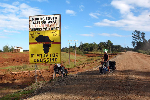 Crossing the Equator - Southwestern Kenya