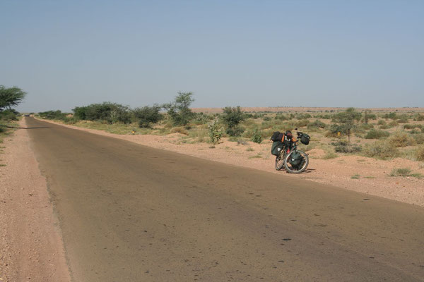 Heading east - Great Thar Desert - Rajasthan