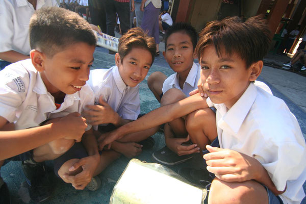 Students at Sumbawa Besar - Sumbawa