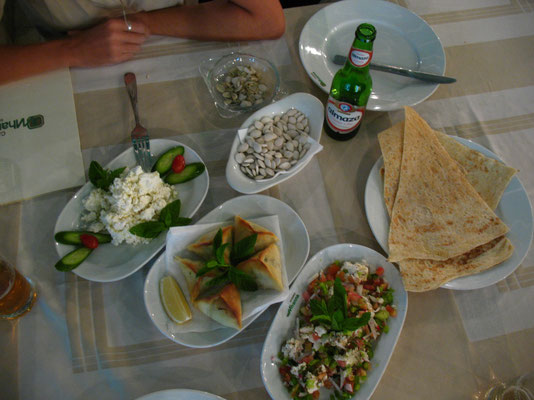 Dinner in Zahlah - Lebanon