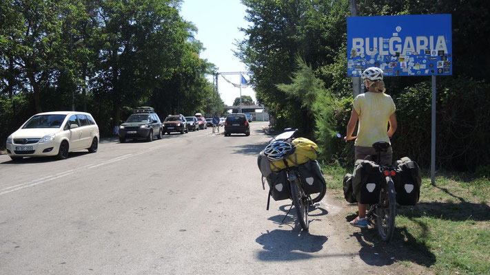 Crossing the border to Bulgaria