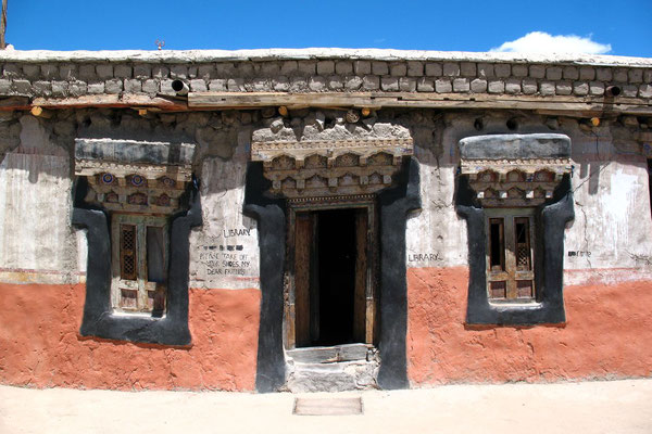 Library at Thiksey Gompa - Indus Valley - Ladakh