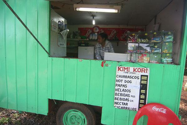 Churrasco stall - Hanga Roa