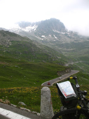 Cycling Furka Pass 2,431 m - Uri - Switzerland