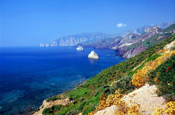 Near Seruci - Southwestern Sardinia