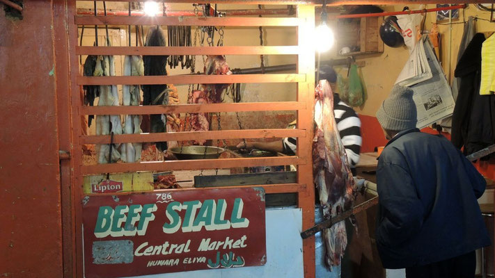 Central Market - Nuwara Eliya - The Hill Country