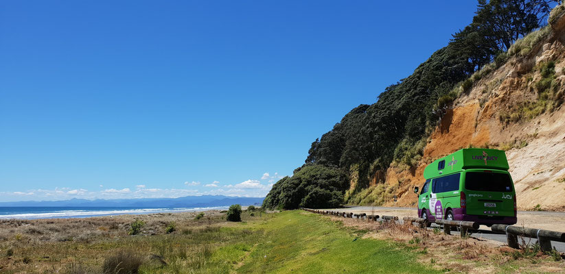 Pacific Coast Highway - Bay of Plenty - North Island