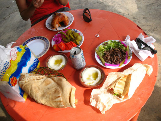 Lunch - Western Syria