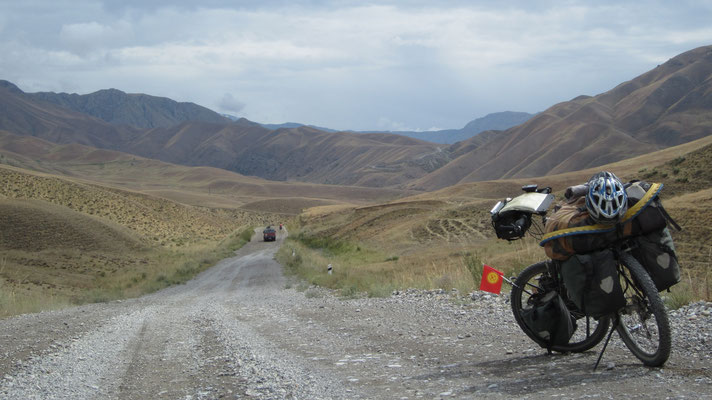Cycling Jalal-Abad-to-Naryn-Road - Kyrgyzstan