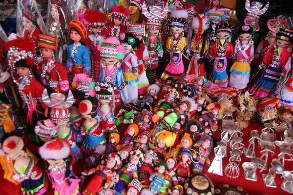 Souvenir market - Luang Prabang