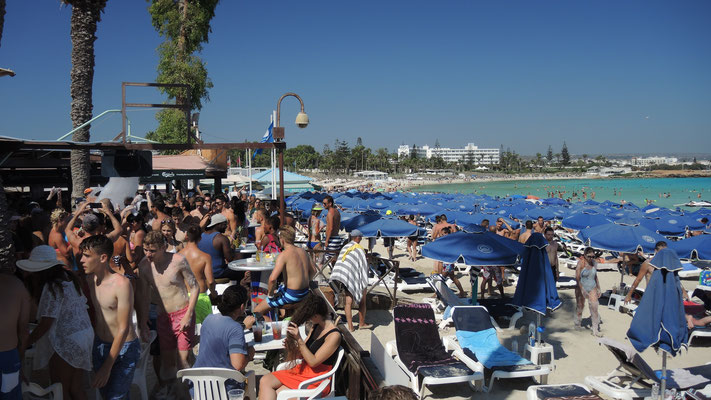 Beach Club at Nissi Beach - Agia Napa