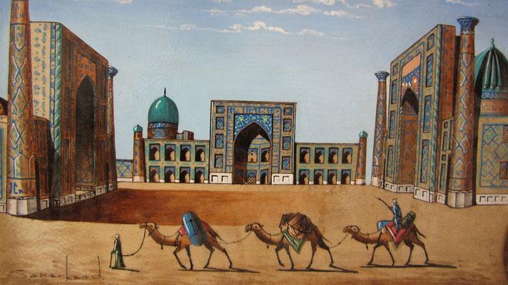 Painting - Samarkand - Uzbekistan