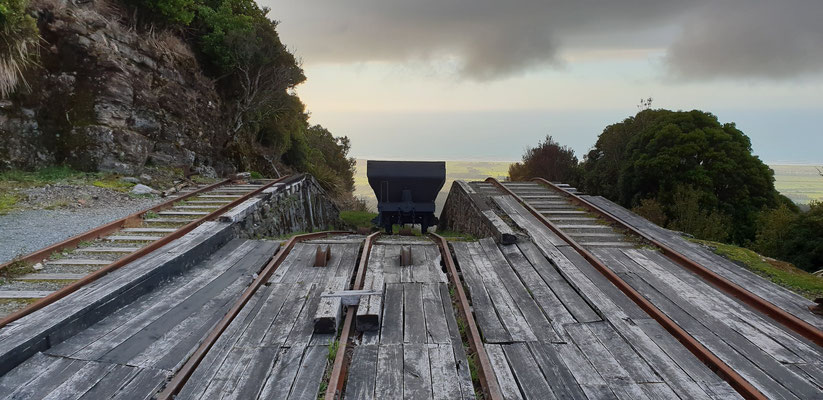 Denniston Coal Mine - Karamea Bight - South Island
