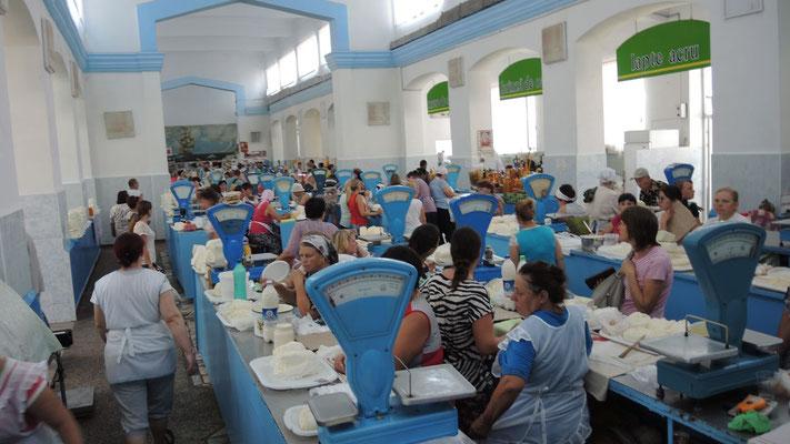 Cheese Market - Chisinau - Moldova